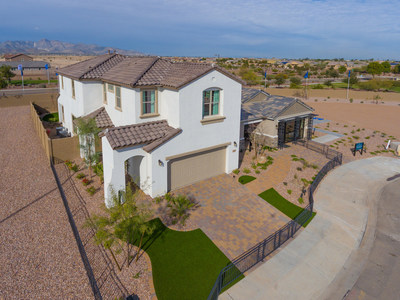 CalAtlantic Homes, one of the nation's largest homebuilders, has expanded its offerings at the Blue Horizons master-planned community in Buckeye, AZ with the debut of nine new home designs. The public is invited to tour the new models at a Grand Opening celebration this weekend. Doors open at 10:00 a.m.