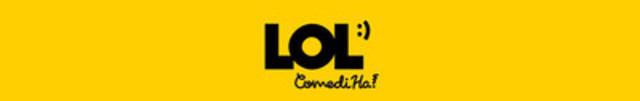 Logo : LOL :) ComediHa! (CNW Group/QuébeComm)