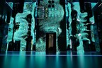 """The interior of """"The Moral Machine"""" at The World Economic Forum in Davos (PRNewsFoto/Dubai Future Foundation)"""