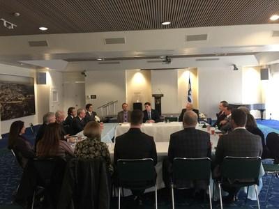Trump Evangelical Board Expresses Support for Israel Meeting with Ambassador Dermer & Dr. Evans