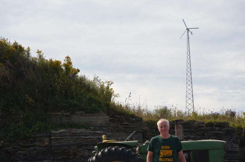 United Wind customer and farmer, Ed Doody of New York.