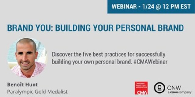 Webinar: Building your personal brand (CNW Group/CNW Group Ltd.)