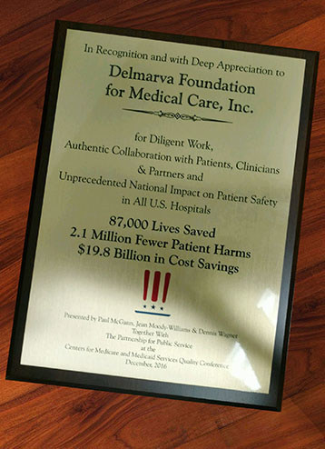Delmarva Foundation receives high honors from CMS