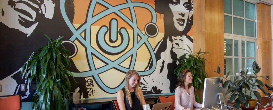 Artwork by Kaleo at ROC Santa Monica.