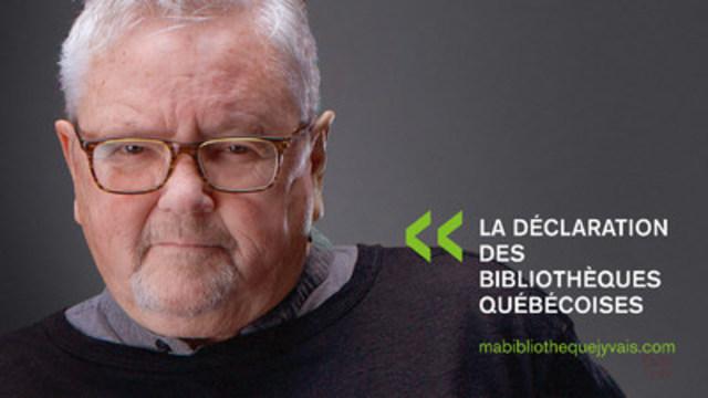 Kevin Tierney, Auteur, producteur et chroniqueur, crédit photo : Patrice Lapointe (Groupe CNW/Table permanente de concertation des bibliothèques québécoises)