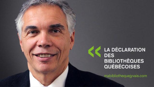 Joe Schwarcz, Directeur de l'Organisation pour la science et la société de l'Université McGill (Groupe CNW/Table permanente de concertation des bibliothèques québécoises)
