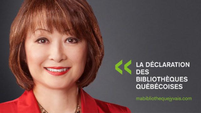 Mutsumi Takahashi, Chef d'antenne, CTV Montréal (Groupe CNW/Table permanente de concertation des bibliothèques québécoises)