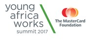 Young Africa Works logo (PRNewsFoto/The MasterCard Foundation)