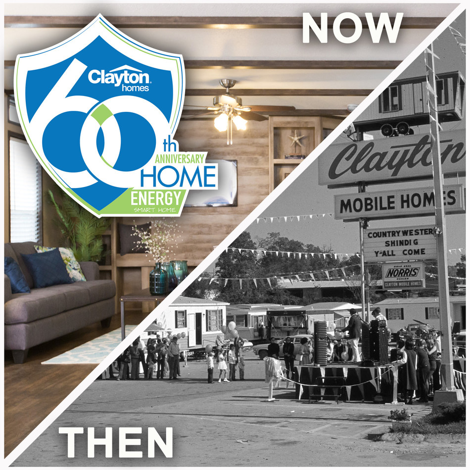 Clayton is celebrating 60 years as a company by releasing a 60th anniversary home model.