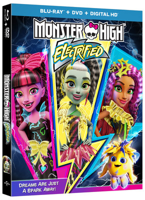From Universal Pictures Home Entertainment: Monster High: Electrified