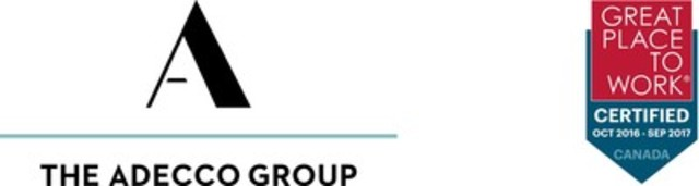 The Adecco Group/GPTW Certified Logos (CNW Group/Adecco Canada)