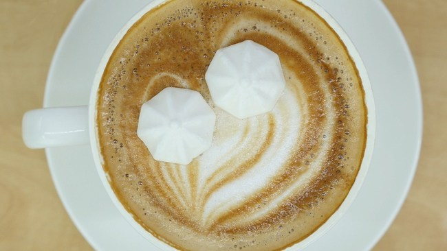 New 3D sweetener to reduce sugar in your coffee