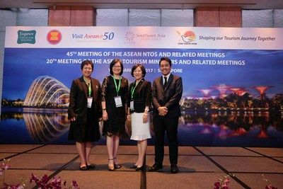 All 10 ASEAN Ministers Vote to Use Thailand MICE Venue Standard (TMVS) as Model for ASEAN MICE Venue Standard (AMVS) at ATF 2017, TCEB ushered in 2017 with an announcement from the ASEAN Tourism Forum 2017 (ATF 2017), which is being held from 16-20 January 2017 in Singapore, that all 10 ASEAN tourism ministers unanimously voted for Thailand, through TCEB, to lead the development of the AMVS, as a result of the nationwide success of the Thailand MICE Venue Standard.
