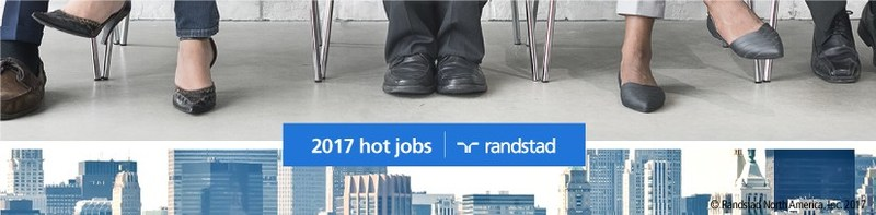 Randstad launches 2017 Hot Jobs report.