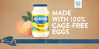 Hellmann's® Mayonnaise And Mayonnaise Dressings Now Use 100% Cage-Free Eggs In The U.S.*, Three Years Ahead Of Schedule