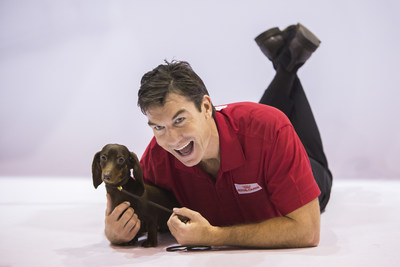 Actor Jerry O'Connell makes a special appearance during the AKC National Championship presented by Royal Canin airing on Monday, January 23, 2017 on Hallmark Channel at 6 p.m. ET.