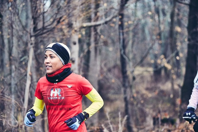 Alison Mariella Desir was one of 4 women that led the 240-mile relay from Harlem, New York to Washington, DC from January 18th - 21st.