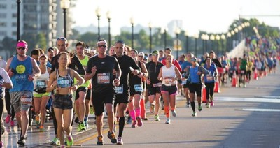 The Miami Marathon will zip through the streets of Miami Beach and offer runners an exciting course and a unique cardio experience (Photo Credit: Miami Marathon)