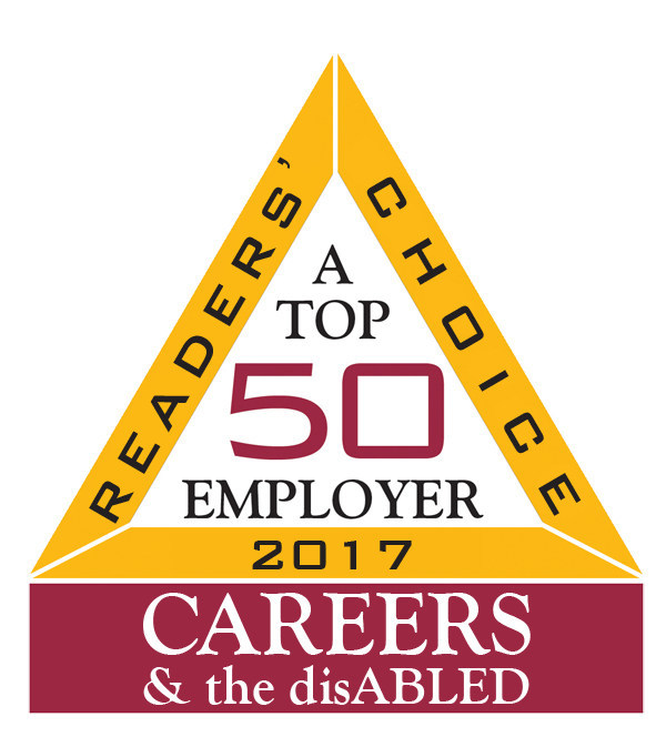 Aramark, a global leader in food, facilities management and uniforms, has once again been named a Top 50 employer for providing a positive working environment for people with disabilities by CAREERS & the disABLED magazine.