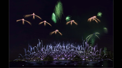 A Fireworks Spectacular Over the Hudson River designed by CAFA will begin at 8:30 PM on January 26th to Celebrate the Chinese Lunar New Year