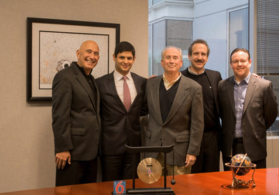 From left to right: Dean Savas, EVP Franchise G6 Hospitality; Luis Antonio Maldonado, Director IADG; Jim Amorosia, CEO G6 Hospitality; Gustavo Ripol, Director IADG; Guillermo Estrada, Director G6 Hospitality