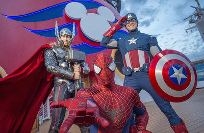 Disney Cruise Line guests will assemble on the Disney Magic to celebrate the epic adventures of the Marvel Universe's mightiest Super Heroes and Super Villains in a brand-new, day-long event: Marvel Day at Sea. The event kicks off on seven special sailings from New York City in the fall of 2017, followed by eight special voyages from Miami departing January through April 2018.