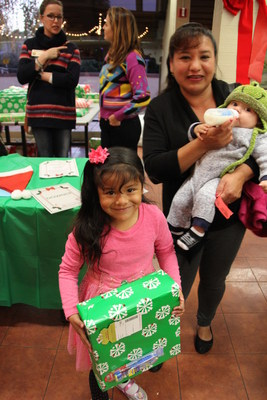 450 children served by the City of San Pablo's Youth Services were among the Family Giving Tree's 76,000 recipients for the 2016 Holiday Wish Drive.