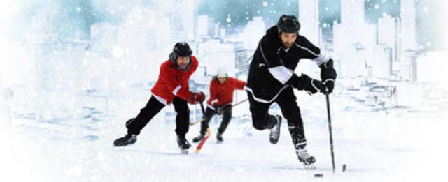 Classique Montréalaise - le plus grand tournoi de hockey en plein air. Crédit photo François Lacasse (Groupe CNW/Société des célébrations du 375e anniversaire de Montréal)
