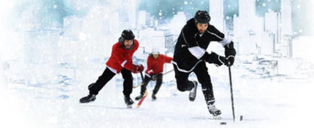 Classique Montréalaise - the biggest outdoor hockey tournament. crédit photo: François Lacasse (CNW Group/Société des célébrations du 375e anniversaire de Montréal)