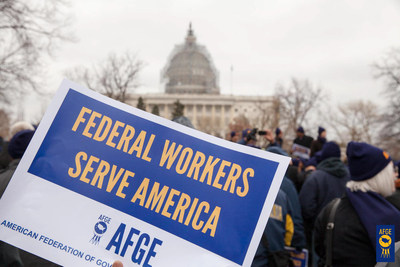 """President Trump's order to freeze federal employee hiring """"will disrupt government programs and services that benefit everyone and actually increase taxpayer costs by forcing agencies to hire more expensive contractors to do work that civilian government employees are already doing for far less,"""" says J. David Cox Sr., national president of the American Federation of Government Employees. AFGE represents 670,000 federal and D.C. government workers nationwide."""