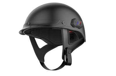 Sena's Cavalry Bluetooth Half-Helmet is available now in both matte black and glossy black, in sizes XS-XXL. Head to www.sena.com to locate a dealer near you.