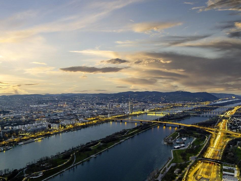 Vienna establishes 7th record in succession with 14.96 million visitor bednights in 2016. Credit: Vienna TouristBoard/Christian Stemper. (PRNewsFoto/Vienna Tourist Board)