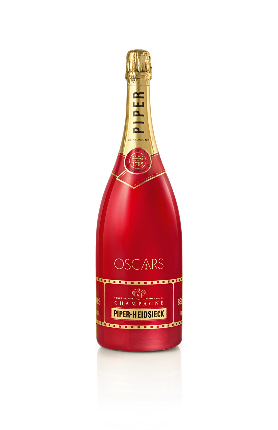 Piper-Heidsieck Returns to the Oscars(R) with Limited Edition Magnums