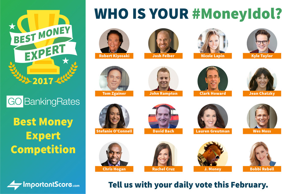 GOBankingRates wants to know: Who is your #MoneyIdol?