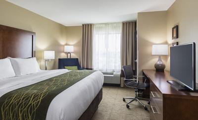 Choice Hotels' Comfort Inn room