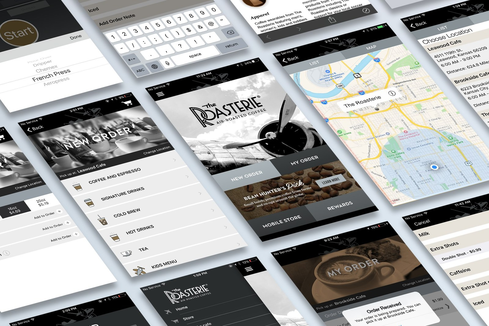 The Roasterie Mobile App Combines Coffee And Customer Service In A Perfect Brew
