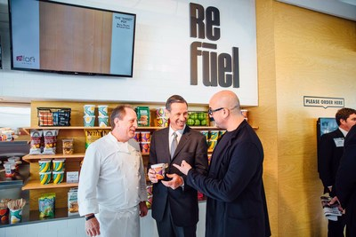 Aloft's new breakfast concept, the pot, revealed during the America's Lodging Investment Summit (ALIS)