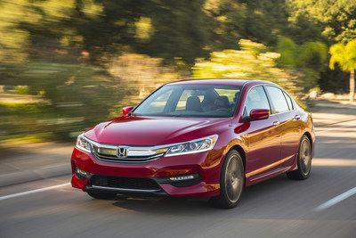 2017 Honda Accord Sport Named Good Housekeeping's 2017 Best New Sedan (PRNewsFoto/American Honda Motor Co., Inc.)