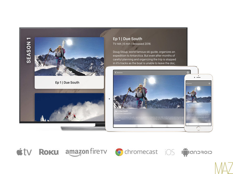 MAZ LAUNCHES OTT PLATFORM TVX WITH 360 SYNC(TM) ACROSS ALL DEVICES