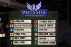 Post Position Draw: California Chrome and Arrogate Among the 12 Horses Confirmed with a Spot at the Starting Gate for the $12 Million Pegasus World Cup Invitational