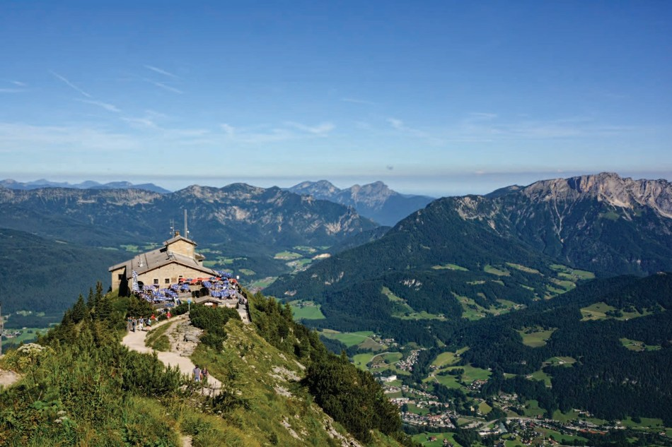 Hitler's Eagles Nest, Germany, still sits on a mountain peak high above Berchtesgaden, in the Bavarian Alps. From June 2 through 14, and again from September 11 through 23, 2017, historians and curators from America's official WWII Museum will lead guests on the real-life epic journey across Europe - including a visit to this infamous Nazi retreat.