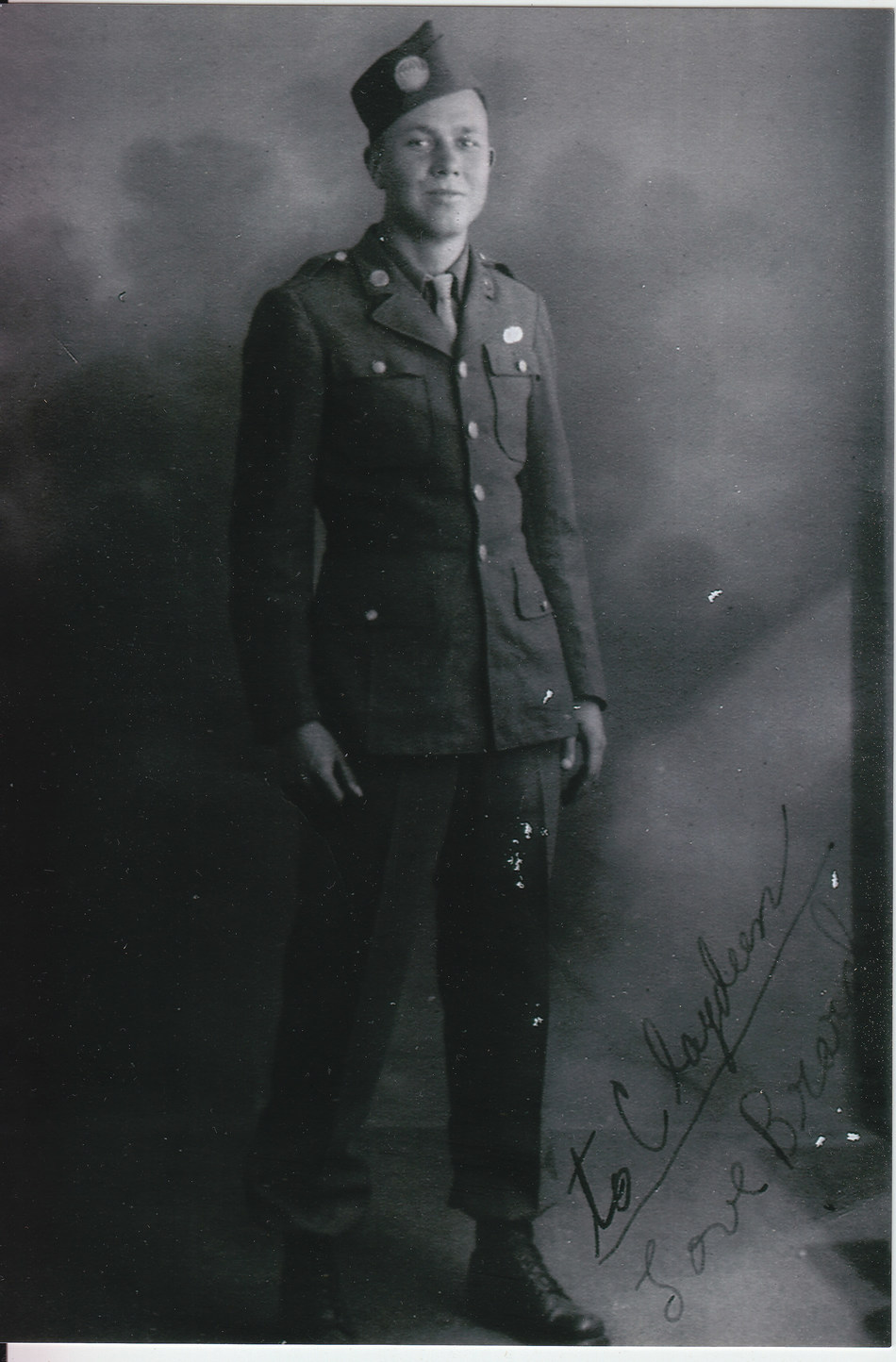 The National WWII Museum's new tour, Easy Company: England to the Eagle's Nest Tour, will feature a rare opportunity to travel with Easy Company veteran Brad Freeman - pictured here in a service-era photo - who will bring his poignant story and wartime experiences with his Band of Brothers to life throughout the journey.