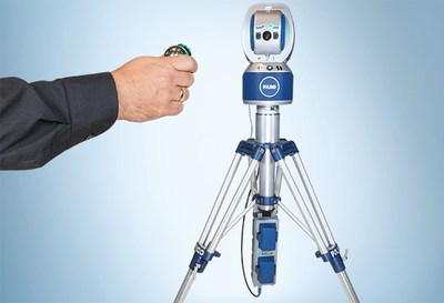 The FARO Vantage Laser Tracker Product line provides exceptional portability with robust Wi-Fi and a hot-swappable battery pack. It can be taken anywhere, without needing cables or AC power. (PRNewsFoto/FARO Technologies, Inc.)