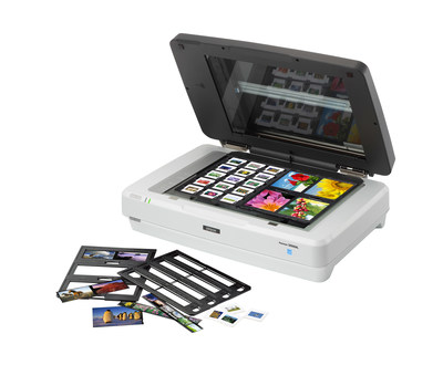 The Epson(R) Expression(R) 12000XL scanner offers professional-quality, tabloid-size scanning with the latest imaging technology and reduced power consumption in two configurations - the EXP 12000XL-GA designed for professional graphic artists, museums, and forensics labs, and the EXP 12000XL-PH designed for photographers and film preservationists.