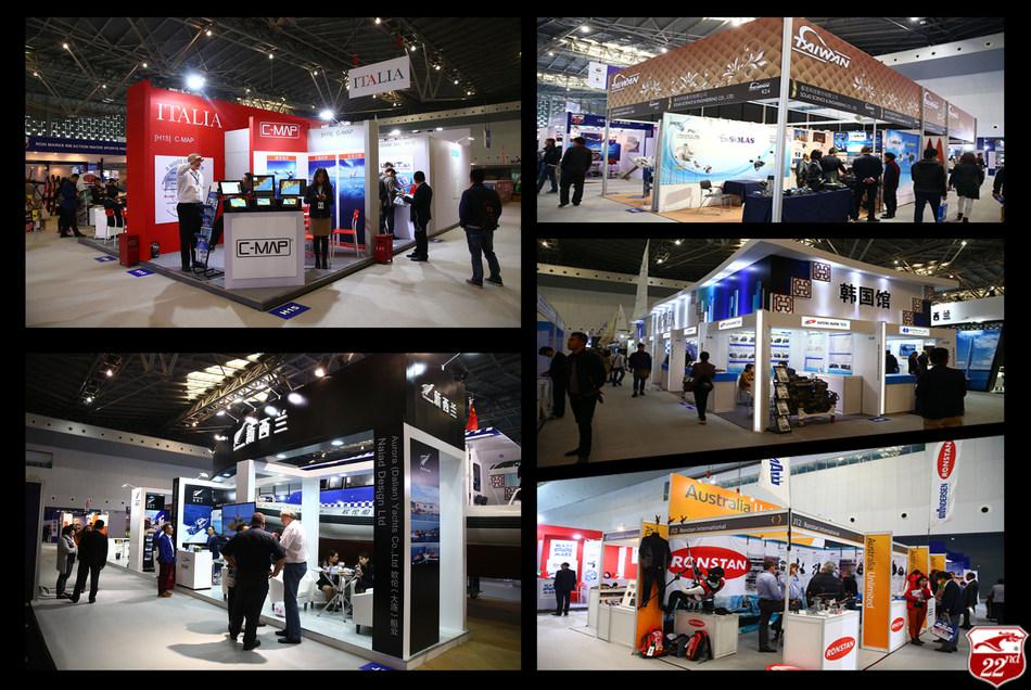 National Pavilions at CIBS 2016
