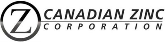 Canadian Zinc Corporation (CNW Group/Canadian Zinc Corporation)