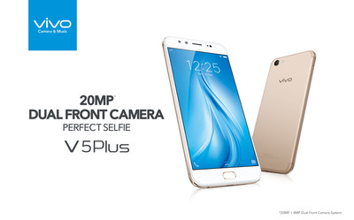 Vivo's V5 Plus: A 20MP dual front camera enables the Perfect Selfie