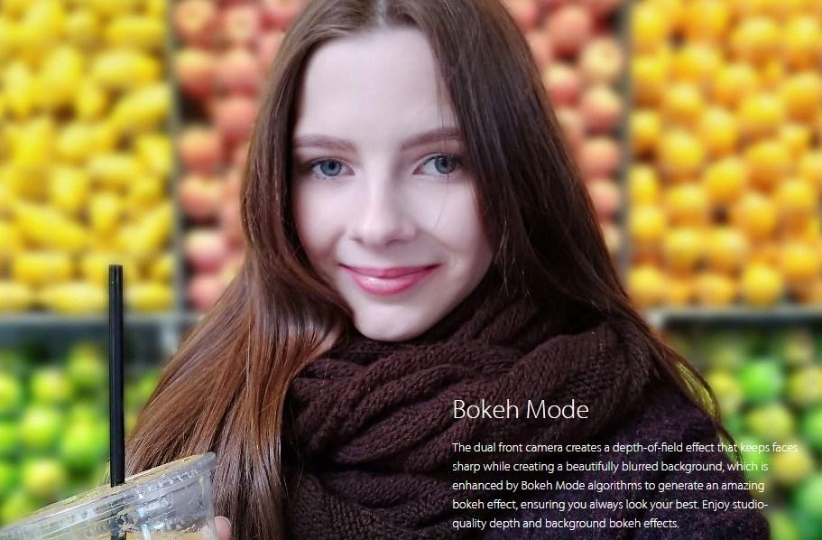 Vivo V5 Plus: Bokeh Mode