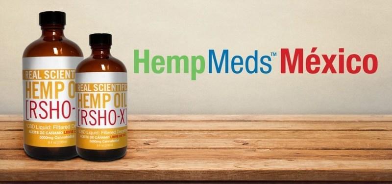 Real Scientific Hemp Oil - X(R) RSHO HempMeds Mexico