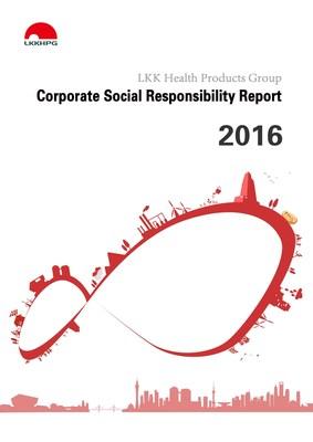 Cover of LKKHPG CSR report 2016